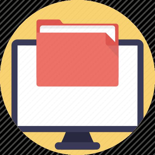 archives, binders, file folder, files, office folder icon