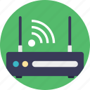 internet modem, internet router, wifi hotspot, wireless access point, wireless router icon