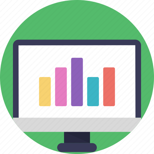 business analytics, business dashboard, business performance, data visualization, kpi icon