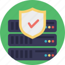 cyber security, data protection, database, internet security, network security icon