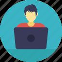 developer, businessman, programmer, technologist, entrepreneur icon