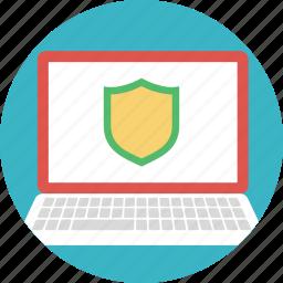 antivirus, computer protection, computer security, computer shield, windows defender icon