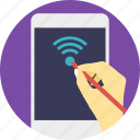 mobile broadband, mobile wifi, wifi connection, wifi zone, wireless internet icon