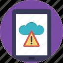 cloud connection, icloud error, mobile cloud drive, no internet connection, offline cloud icon