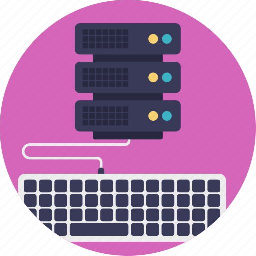 central server, computer server, data server, managed hosting, server computing icon