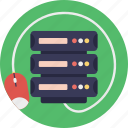 central server, computer server, data server, managed hosting, server computing icon