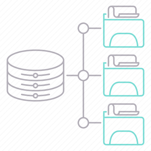 data, file, hosting, network icon