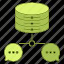 chat, data, database, hosting, infrastructure, network