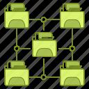data, file, hosting, infrastructure, network
