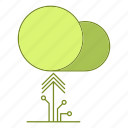 data, hosting, infrastructure, network, upload icon