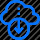 cloud, connection, data, download, export, network, online