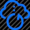 cloud, connection, network, reload, reset, restart, security