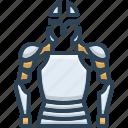 armor, body, human, knight, metal