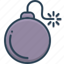 bomb, explosive, war, weapon icon