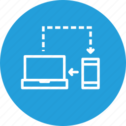 computer, connection, connectivity, internet, mobile, network, sync, synchronization icon