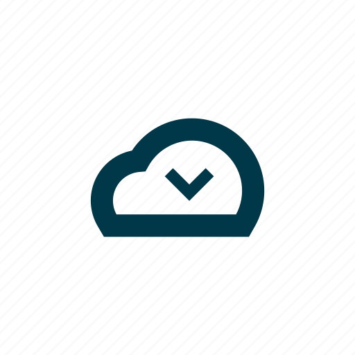 access, avaialble, check, cloud, file, ready, storage, turned on icon