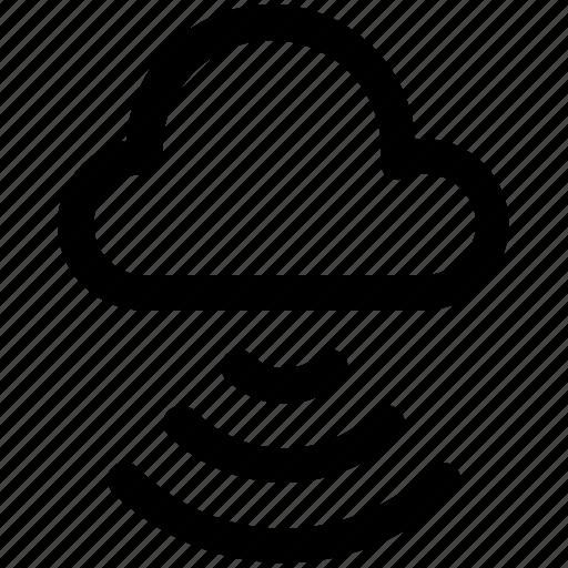 cloud, network, wifi cloud, wireless icon icon