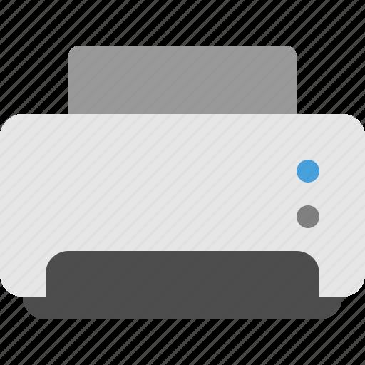 fax, home printer, office printer, printer icon