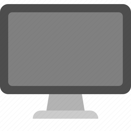desktop screen, display, monitor, pc monitor icon