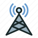 antenna, connection, network, satellite, signal, space, technology