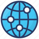 global community, global network, international network, referral network, world wide communication icon