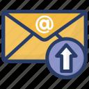 email sending, forward mail, message envelope, send letter, send message icon