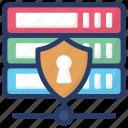 data server protection, data server shield, database management, database management system, sql safety icon