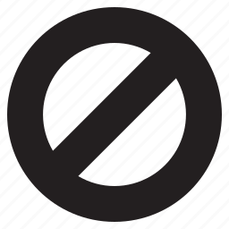 ban, circle, forbidden, no, restricted, sign, stop icon