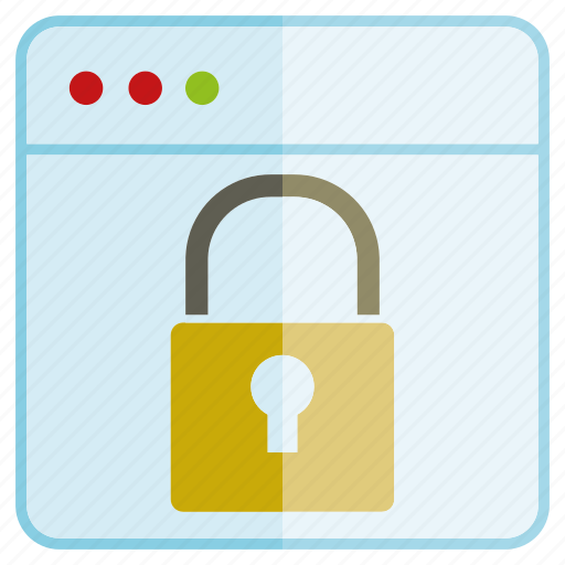 internet, key, lock, network, protect, web icon