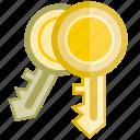 key, lock, secure