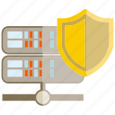 internet, network, protect, router, secure, shield icon