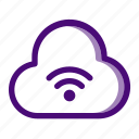 cloud, connection, internet, network, signal, technology, wifi