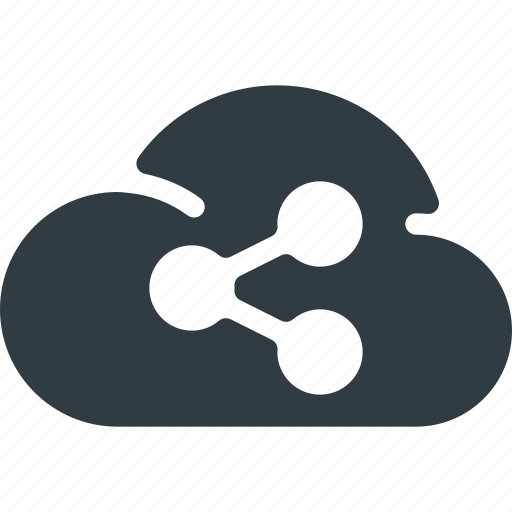 cloud, communication, connection, network, share, sharing, signal icon