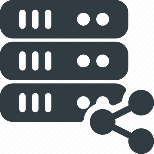communication, connection, network, server, share, sharing, signal icon