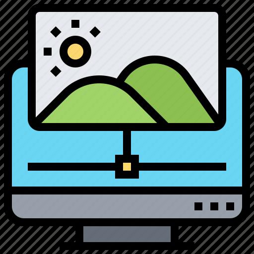 editor, image, photo, program, sharing icon