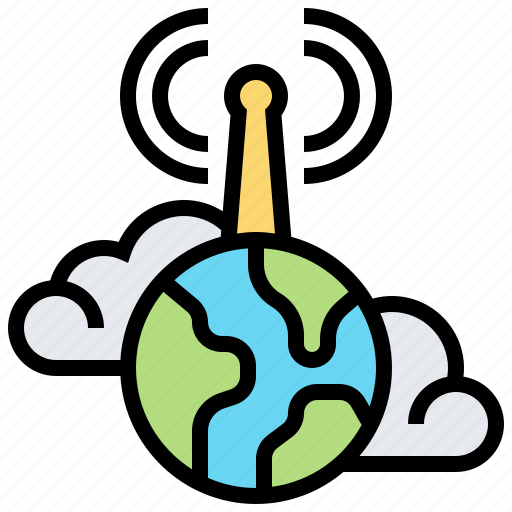 Cloud, communication, global, internet, worldwide icon - Download on Iconfinder