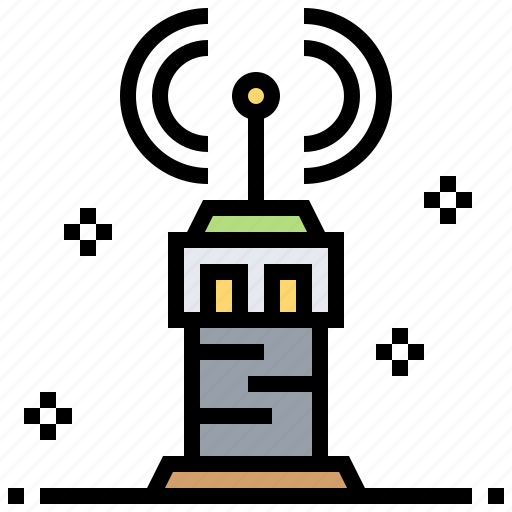 Air, control, signal, tower, traffic icon - Download on Iconfinder