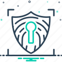 network, protection, safety, secure, security, shield, web icon