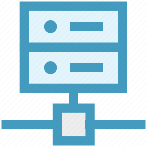 connection, database, hosting, network, sharing, technology icon