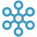 connect, internet, link, network, share, technology, web icon