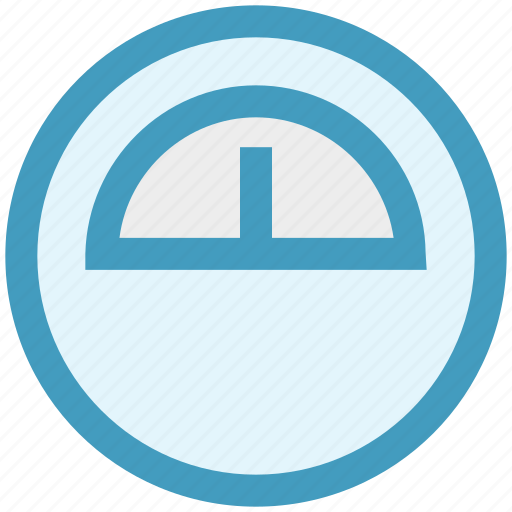 dashboard, gauge, interface, measure, meter, speed, speedometer icon