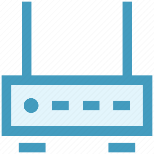 device, internet, modem, network, router, technology, wifi router icon