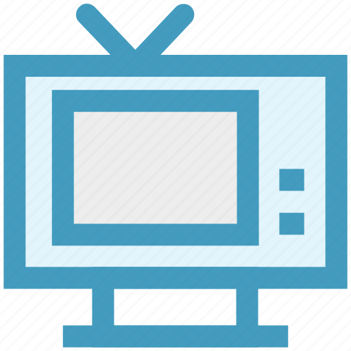 display, screen, technology, television, tv icon
