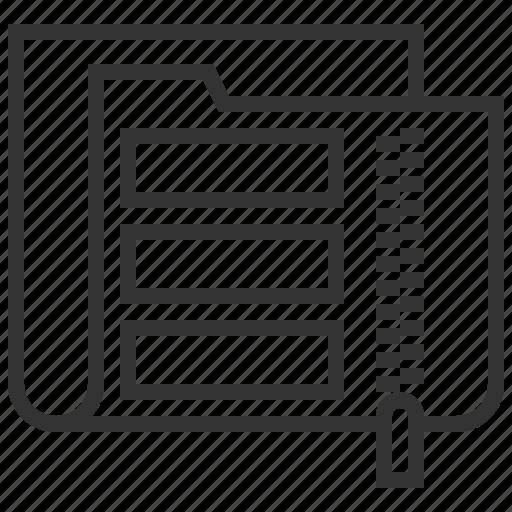 compression, data, documents, files, folder, info icon