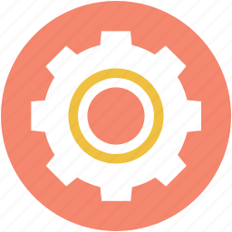 cog, cogwheel, gear, gear wheel, setting icon