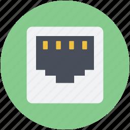 broadband, network hub, network port, network socket, tcp icon