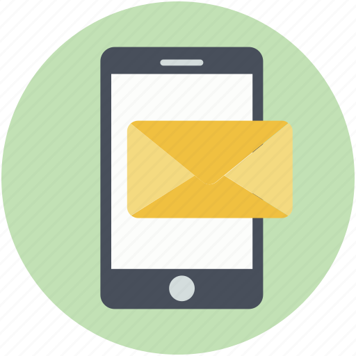 communication, envelope sign, mobile, mobile emailing, modern communication icon