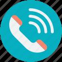 helpline, hotline, phone receiver, receiver, telecommunication