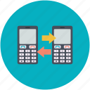 mobile communication, mobile network, mobile networking, mobile technology, social network icon