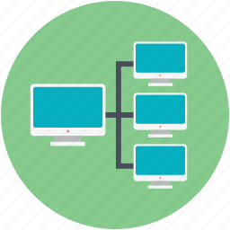 computer server, data processing, global internet, global network, server network icon
